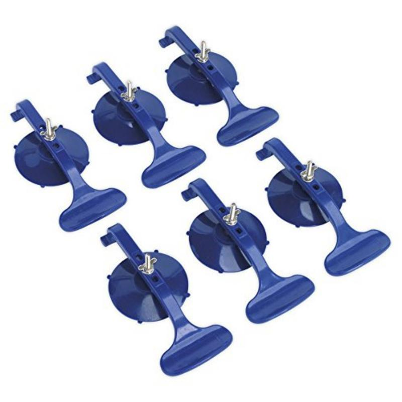 Sealey Suction Clamp Set 6pc RE006