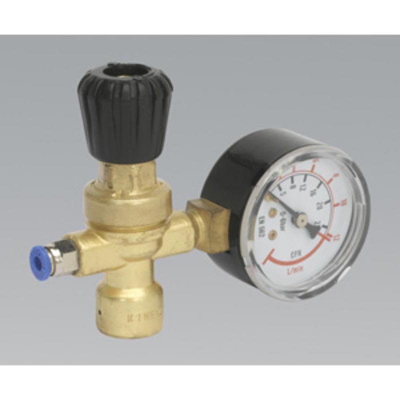 Sealey MIG Gas Regulator Disposable Cylinder 1 Gauge REG/MMG