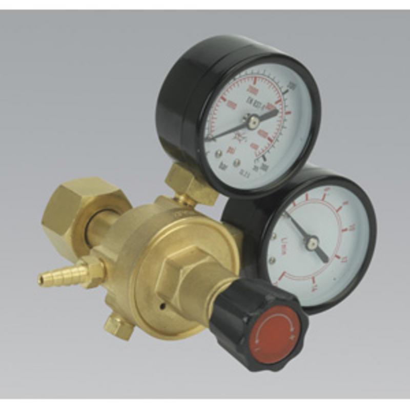 Sealey MIG Gas Regulator 2 Gauge Industrial REG/MT