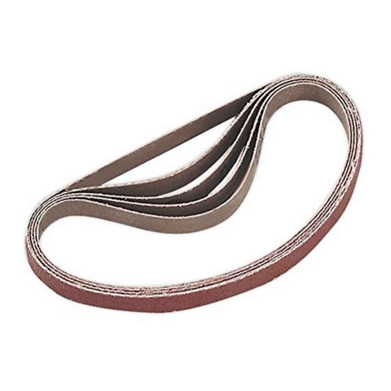 Sealey Sanding Belt 80Grit 10 x 330mm Pack of 5 SA35/B80G