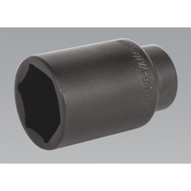"""SX005 Impact Socket 35mm Deep 1/2""""Sq Drive for use with Hand Held Wrench SEALEY"""