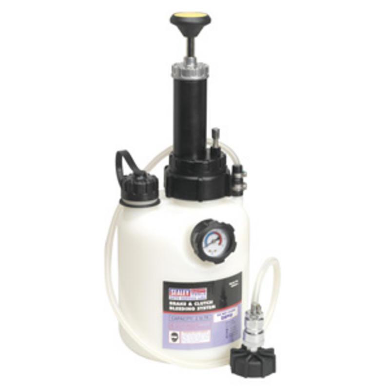 VS820 Brake / Clutch Bleeding System Fluid Bleed Tool 2.5 ltr Bleeder New Sealey