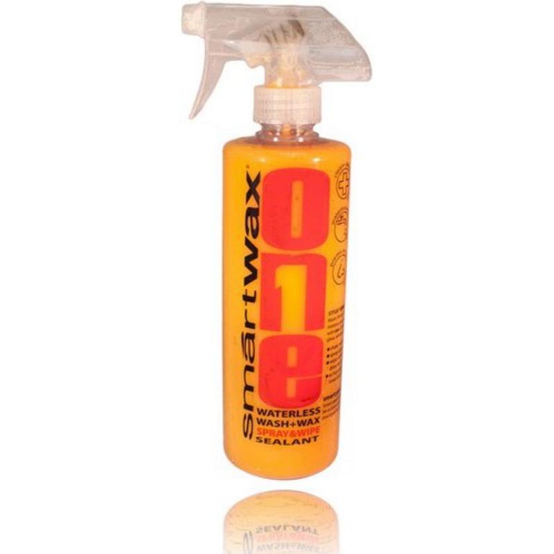 SmartWAX 20105 SmartOne Waterless Car Wash, Wax & Sealant in One 16 oz (473 ml)