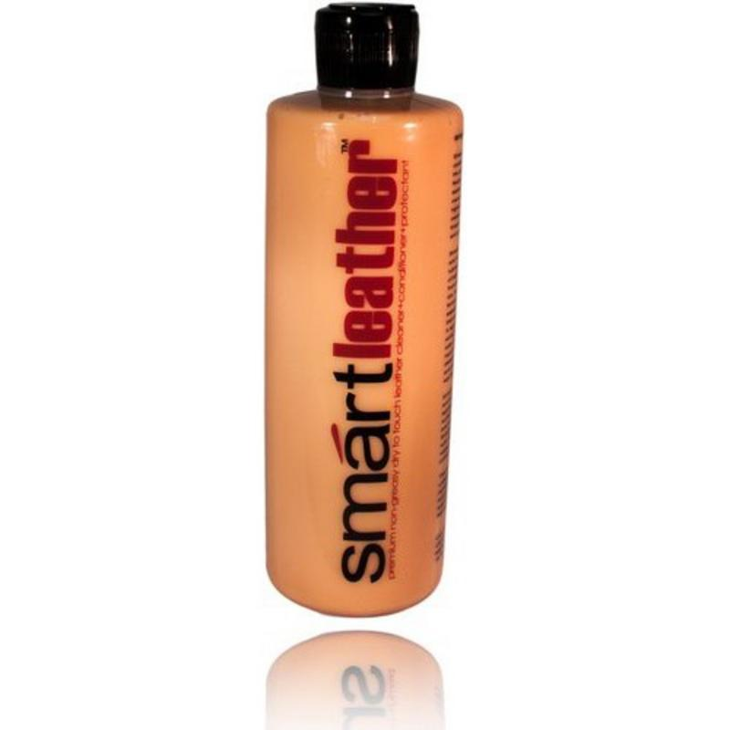 SmartWAX 30100 SmartLeather Premium Dry to Touch Leather Cleaner & Conditioner (w/Leather Scent) 16 oz (473 ml)