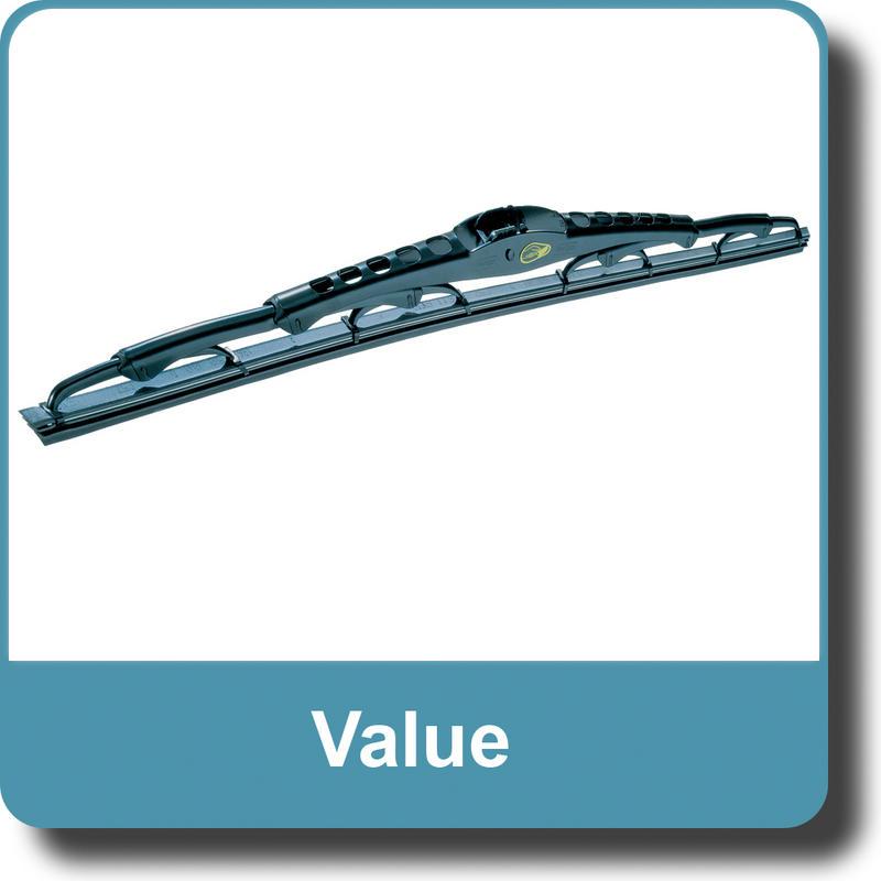 Valeo 574324 Silencio Flat Wiper Blade Set