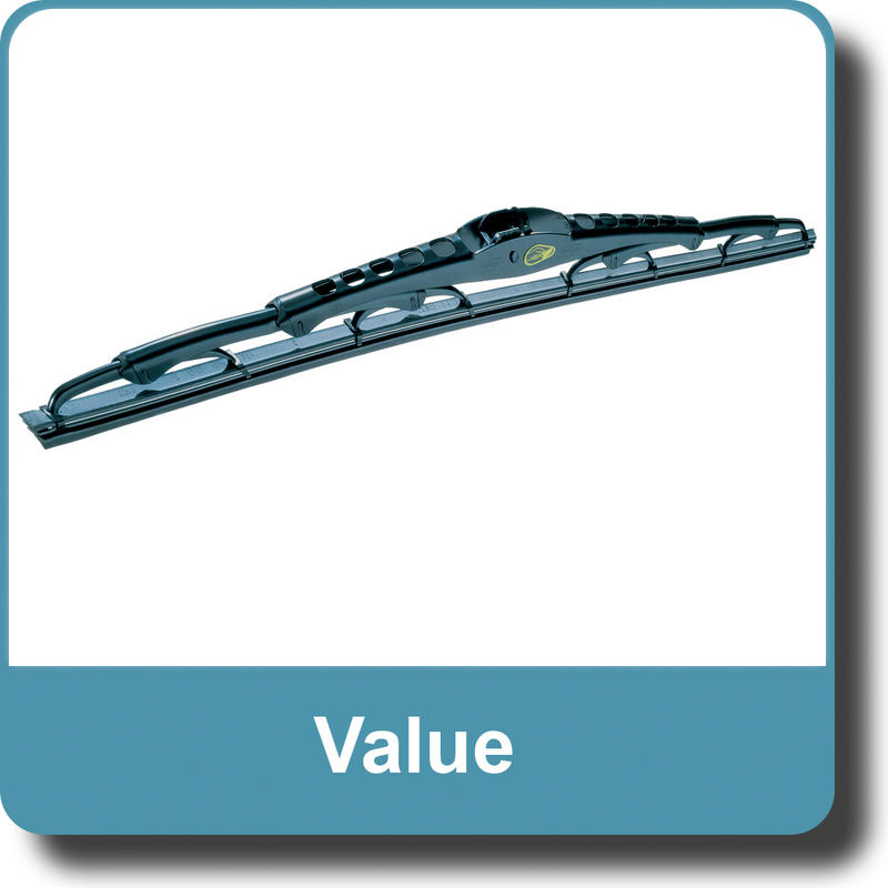 Valeo 574311 Silencio Flat Wiper Blade Set