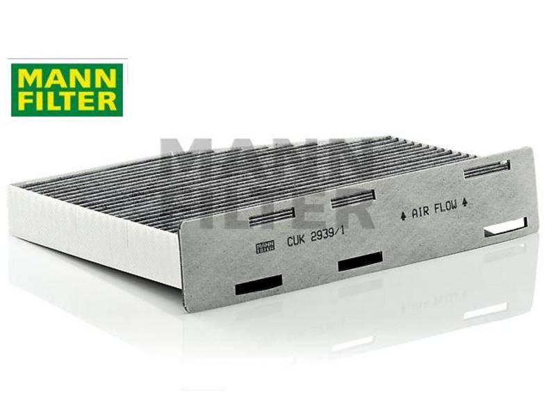 MANN CUK2939/1 Activated Carbon Cabin Pollen Filter