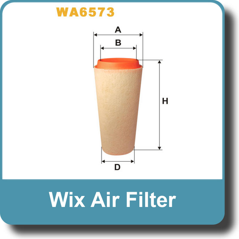 WIX Replacement Air Filter WA6573