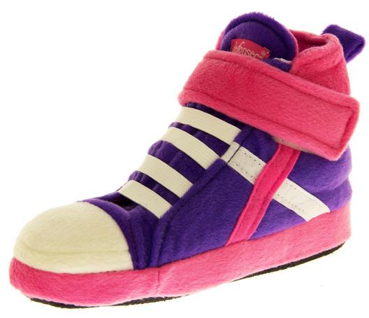 De Fonseca Kids High Top Trainer Boot Slippers