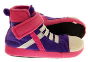 De Fonseca Kids High Top Trainer Boot Slippers Thumbnail 7