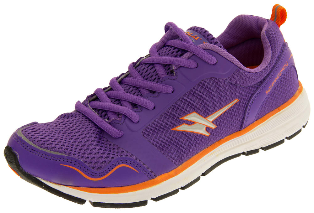 Ladies Gola Active ALA697 Speedplay Lightweight Breathable Running Shoes