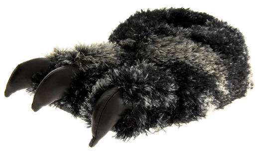 Mens DUNLOP Novelty Monster Claw Feet Slippers Older Boys Novelty Claw Slippers