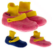 Infant Boys Girls De Fonseca Warm Cosy Cushioned Novelty Clog Slippers