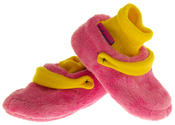 Infant Boys Girls De Fonseca Warm Cosy Cushioned Novelty Clog Slippers Thumbnail 2