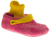 Infant Boys Girls De Fonseca Warm Cosy Cushioned Novelty Clog Slippers Thumbnail 7