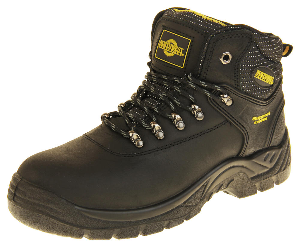 Mens Peel Northwest Territory Safety Steel Toe Cap Work Boots ... 074eae062
