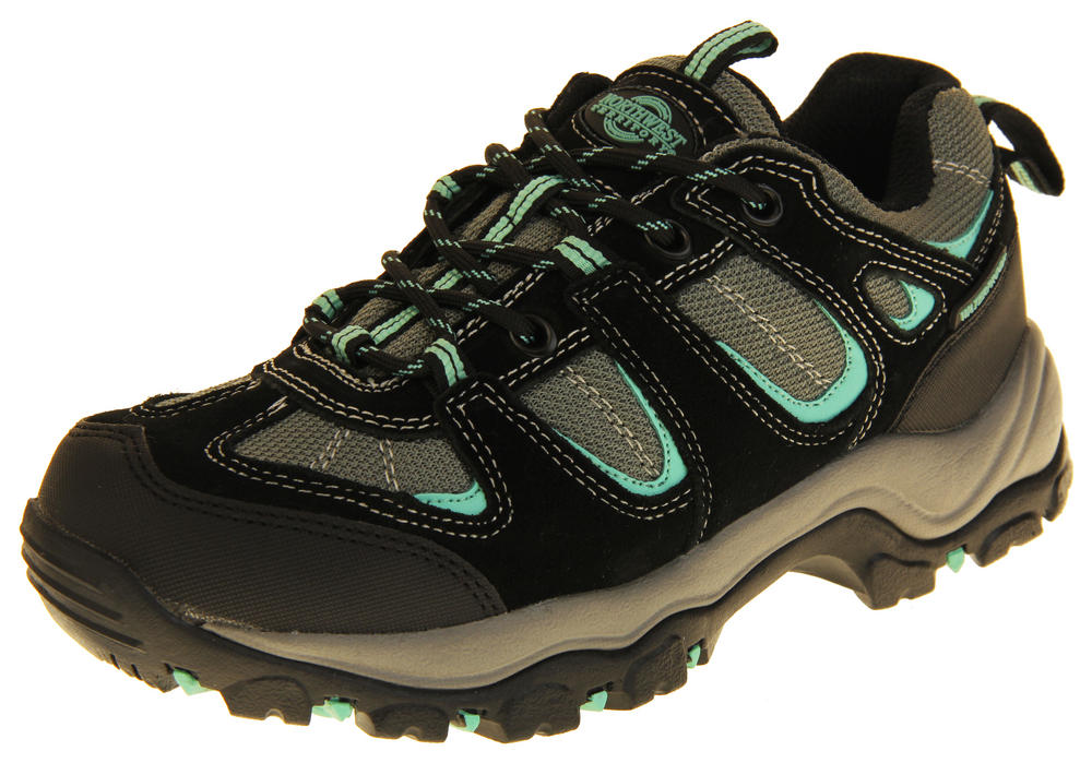 Ladies Northwest Territory Leather Waterproof Hiking Shoes
