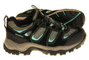 Ladies Northwest Territory Leather Waterproof Hiking Shoes Thumbnail 4
