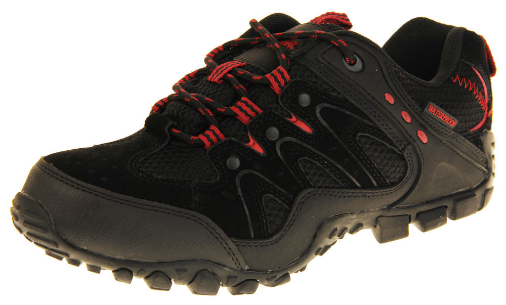 Mens Northwest Territory Leather Hiking Waterproof Shoes