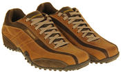 Mens Leather SKECHERS Imperial Trainers Thumbnail 5