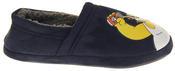 Mens Navy Blue Homer Simpson Comfy Fleece Novelty Slippers Thumbnail 3