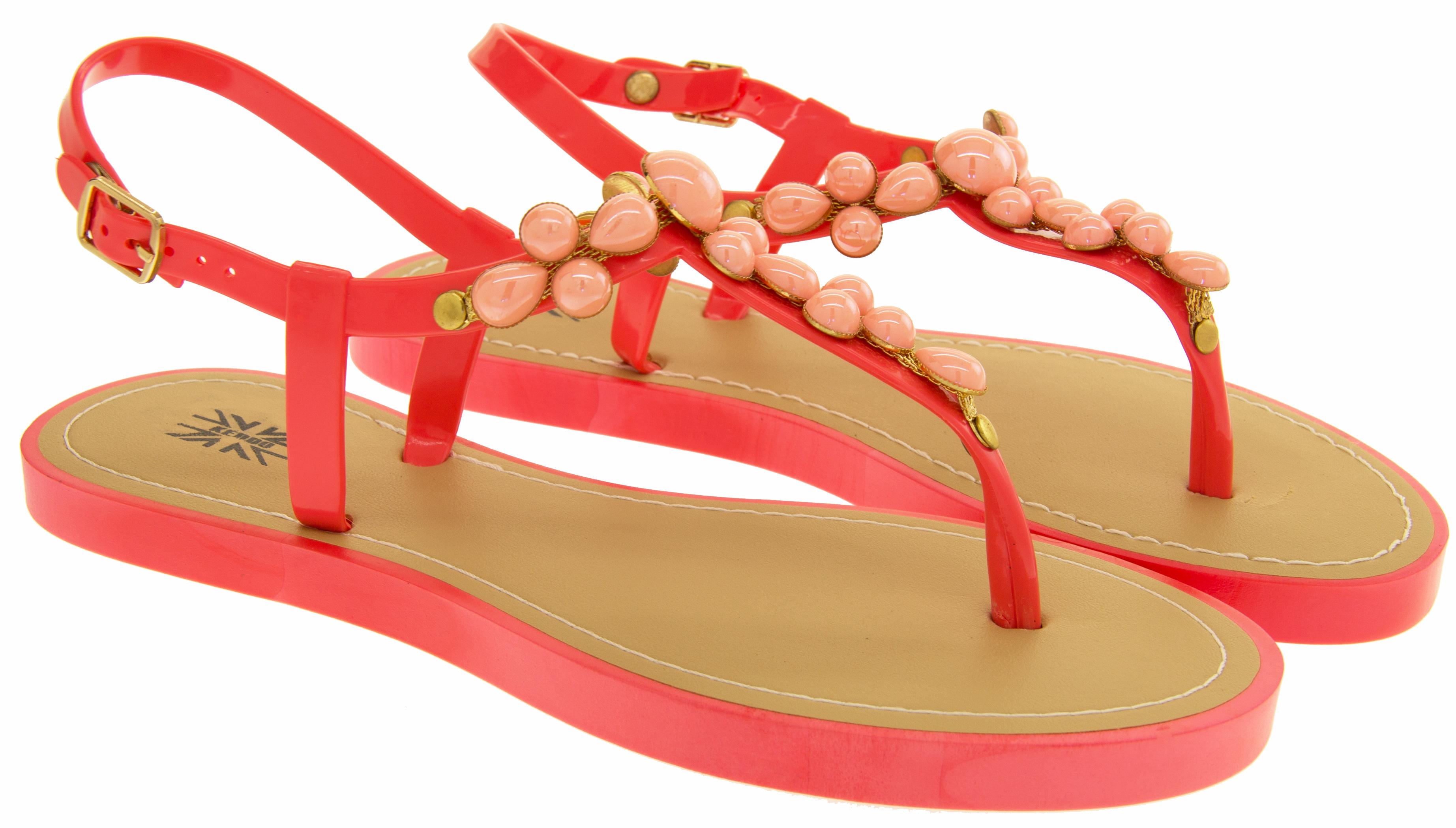 ladies open summer sandals womens toepost summer flip. Black Bedroom Furniture Sets. Home Design Ideas