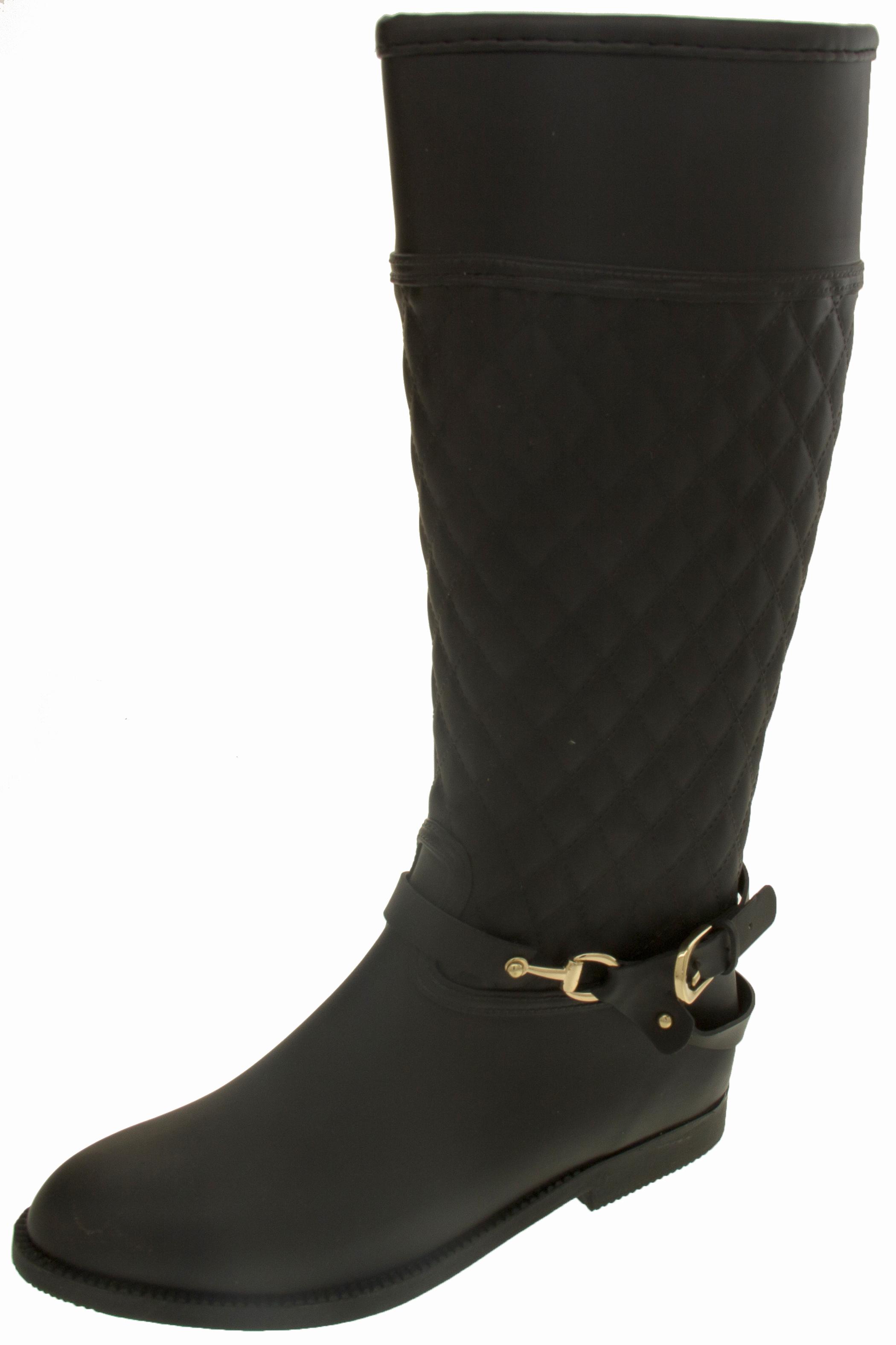 Ladies Keddo Waterproof Fashion Wellington Boots Womens