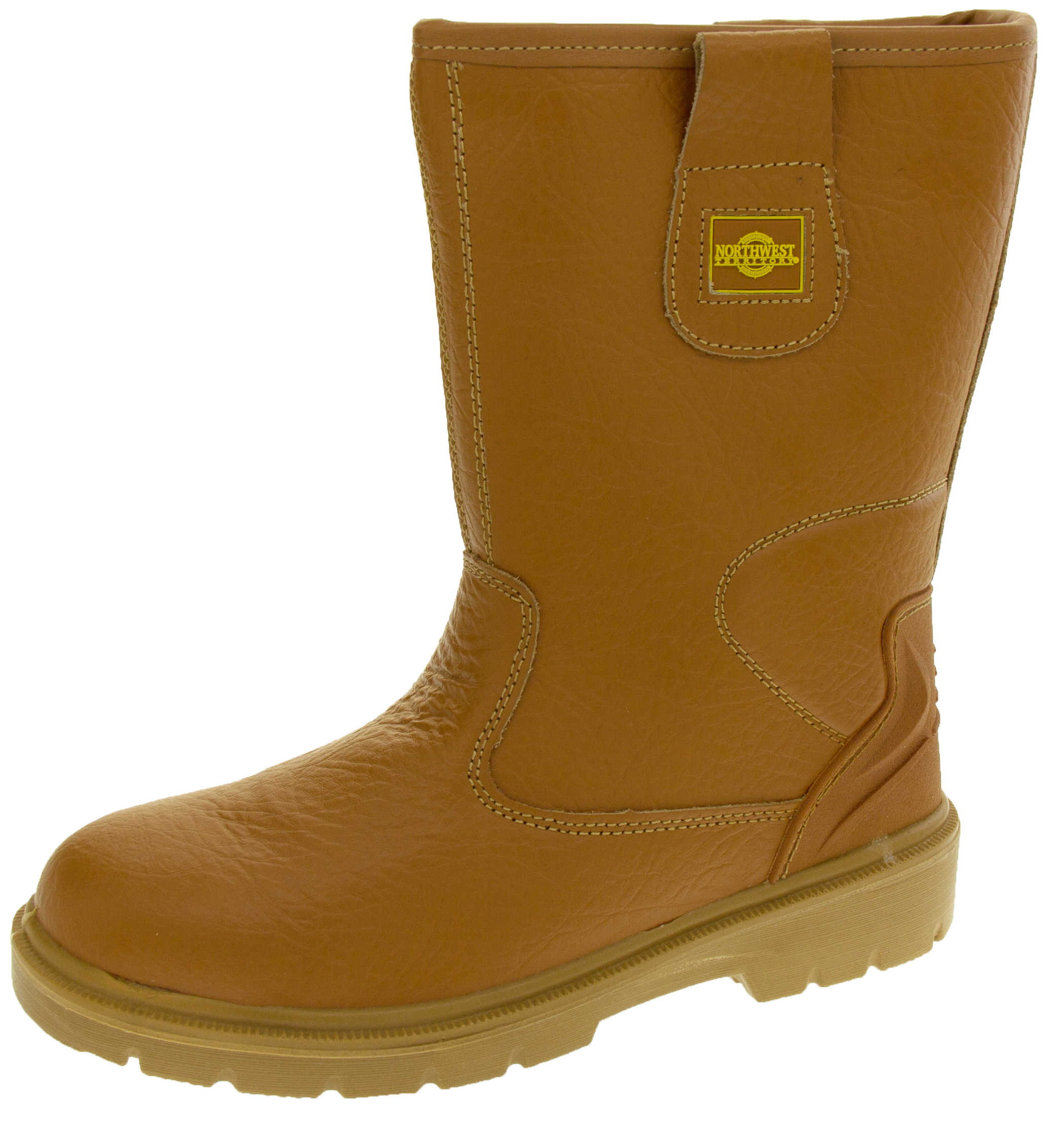 2bf3e2bf5878 Mens NorthWest Territory Darnley Safety Toe Cap Leather Rigger Boots
