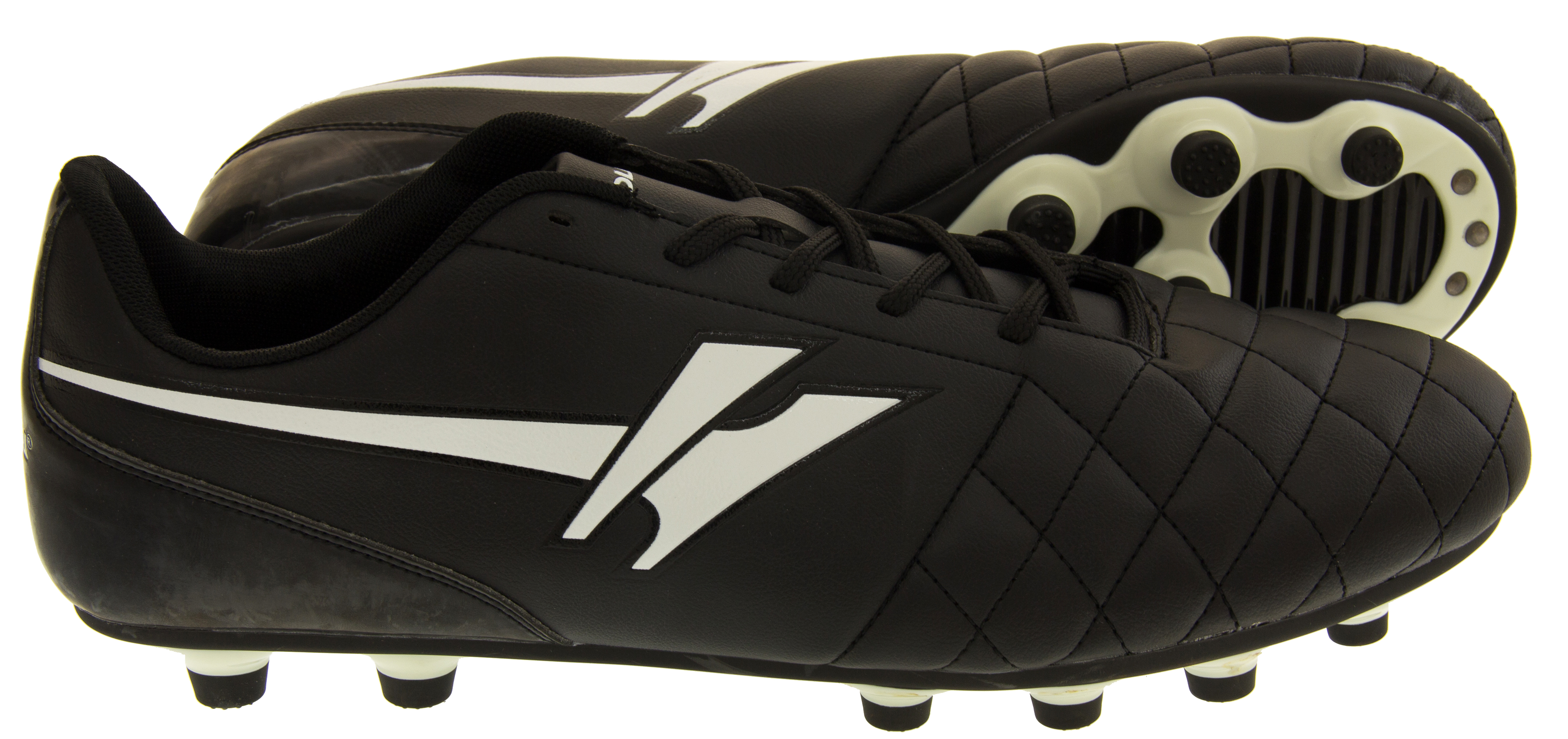 Mens Gola Rey Lace Up Football Boots Moulded Stud Trainers Soccer Boot Size  12 134c6e6d7e