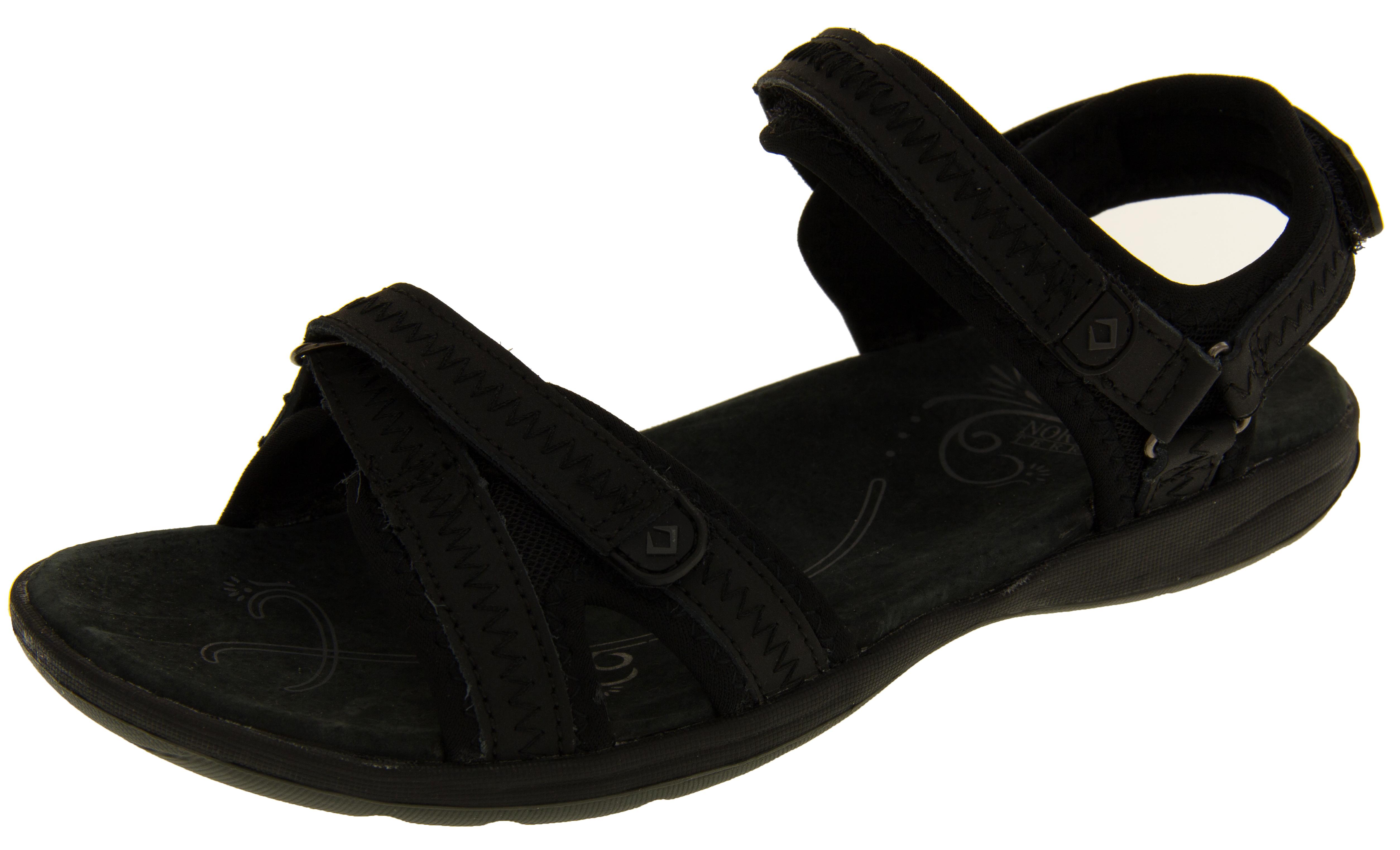 Innovative Ecco Womens Velcro Strap Sandals Sand | McElhinneys