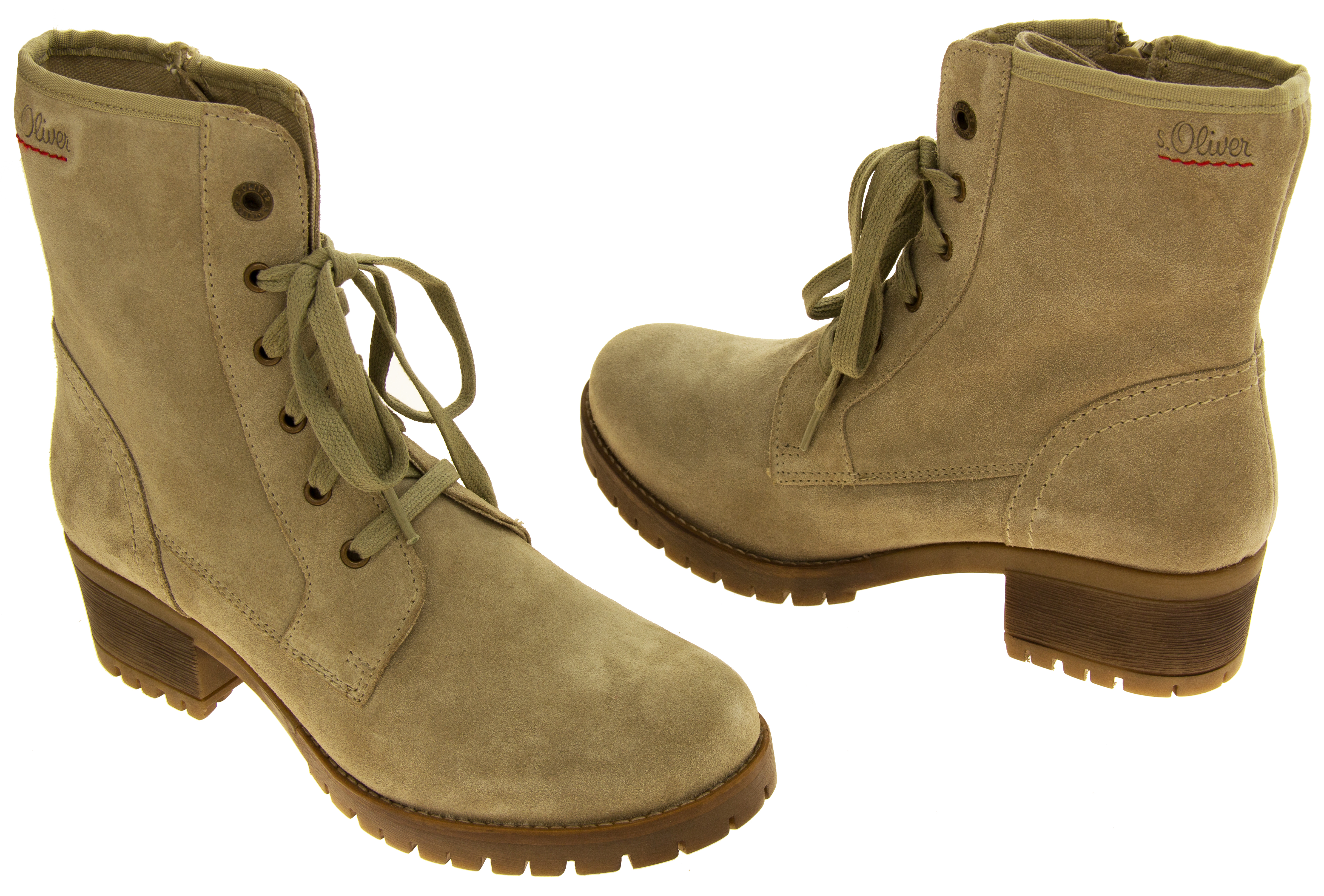 Womens Suede Leather s.Oliver Ladies