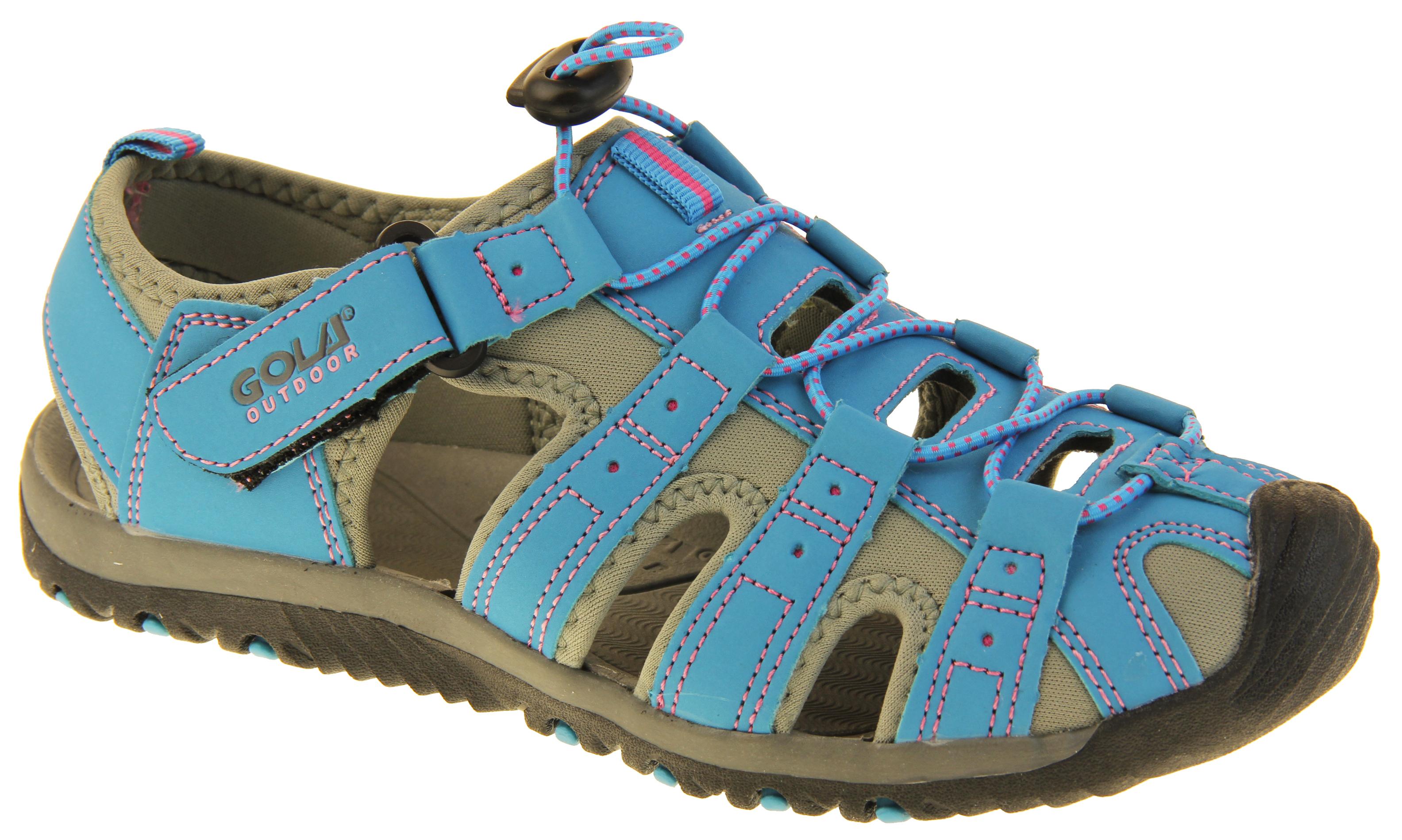 La s Outdoor Walking Sandals Womens Touch Fasten Summer Shoe Size