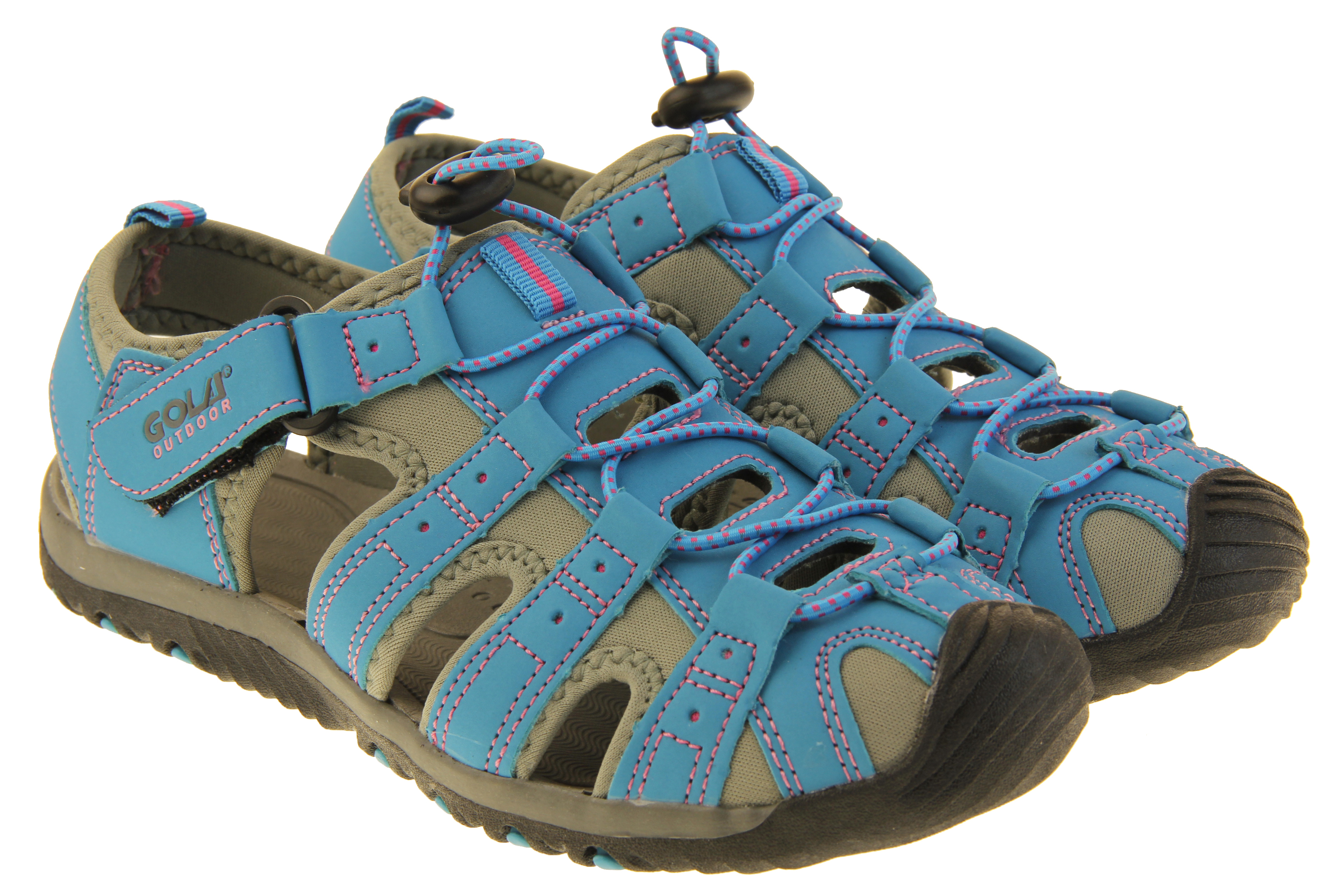 Womens Sports Sandals Ladies Outdoor Closed Toe Walking