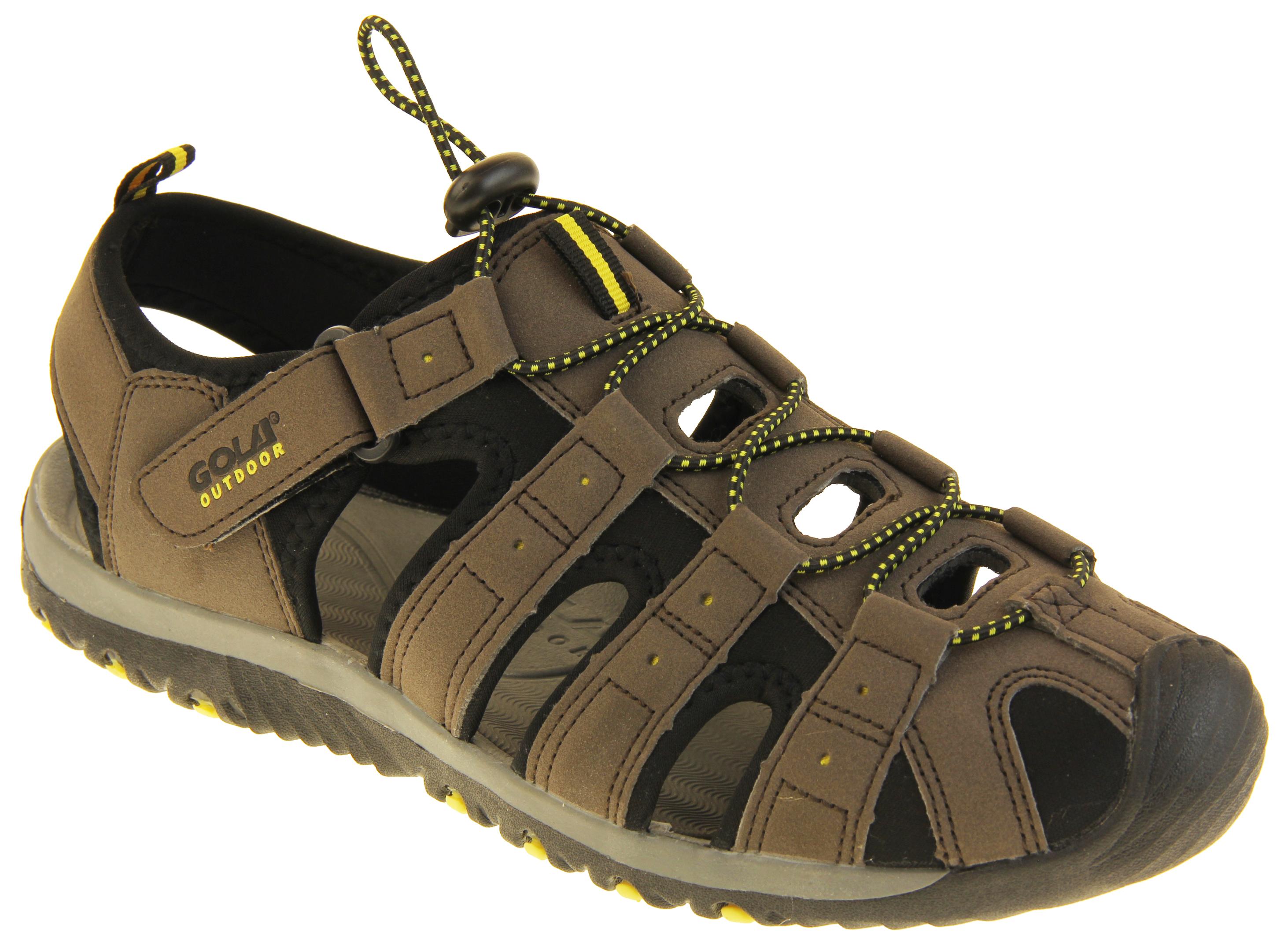 Boys trespass trekking sandals walking casual sandals uk 10 11 12 13
