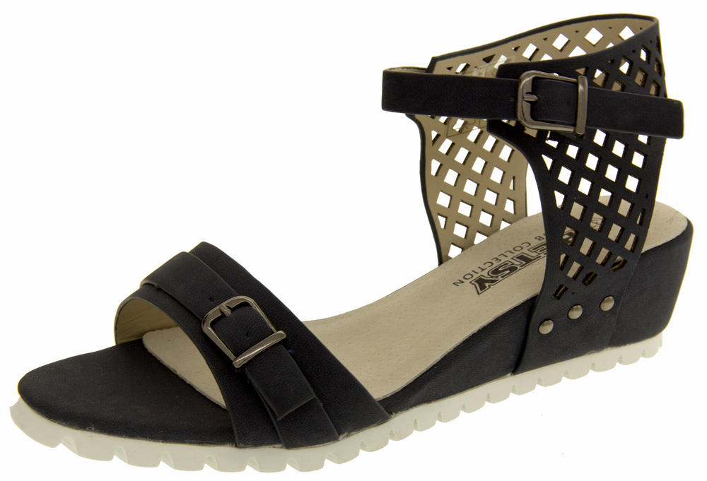 Betsy Womens Summer Wedge Sandals