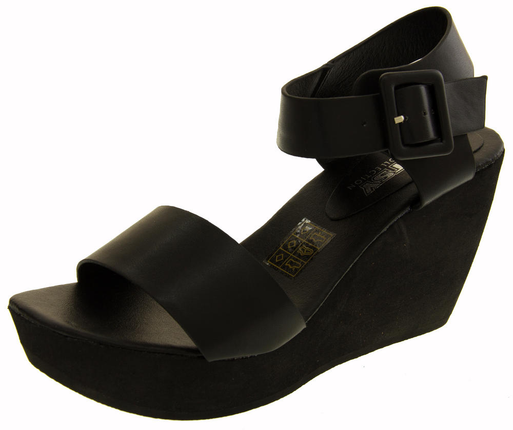 Womens BETSY Platform Wedge Sandals