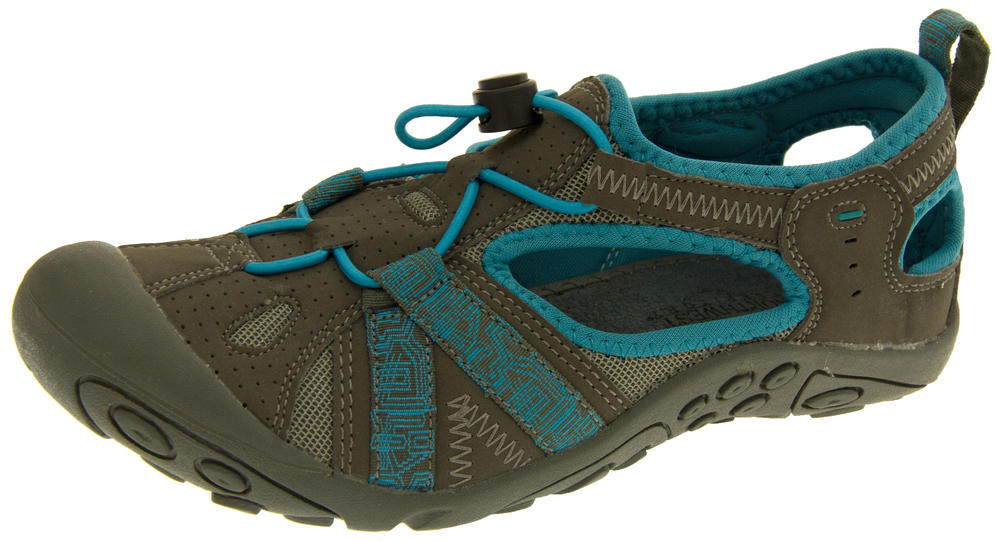 "Ladies Northwest Territory ""Carolina"" Closed Toe Walking/Hiking Sandals"