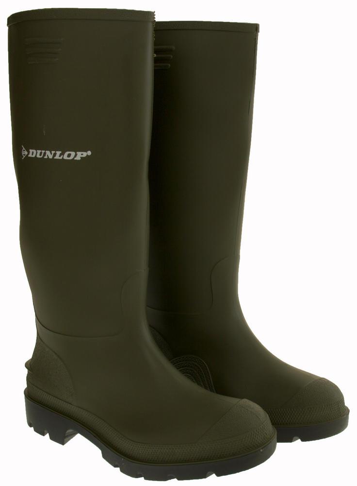 Boys Dunlop Waterproof Wellington Boots Womens Mens