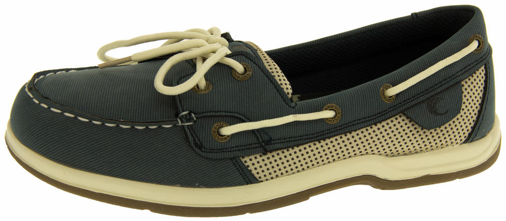 Ladies Island Surf Co. Synthetic Leather Deck Shoes