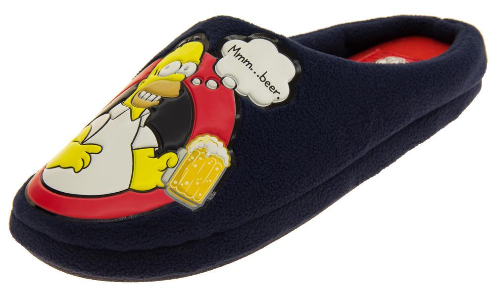 Mens Homer Simpson's Mule Slippers
