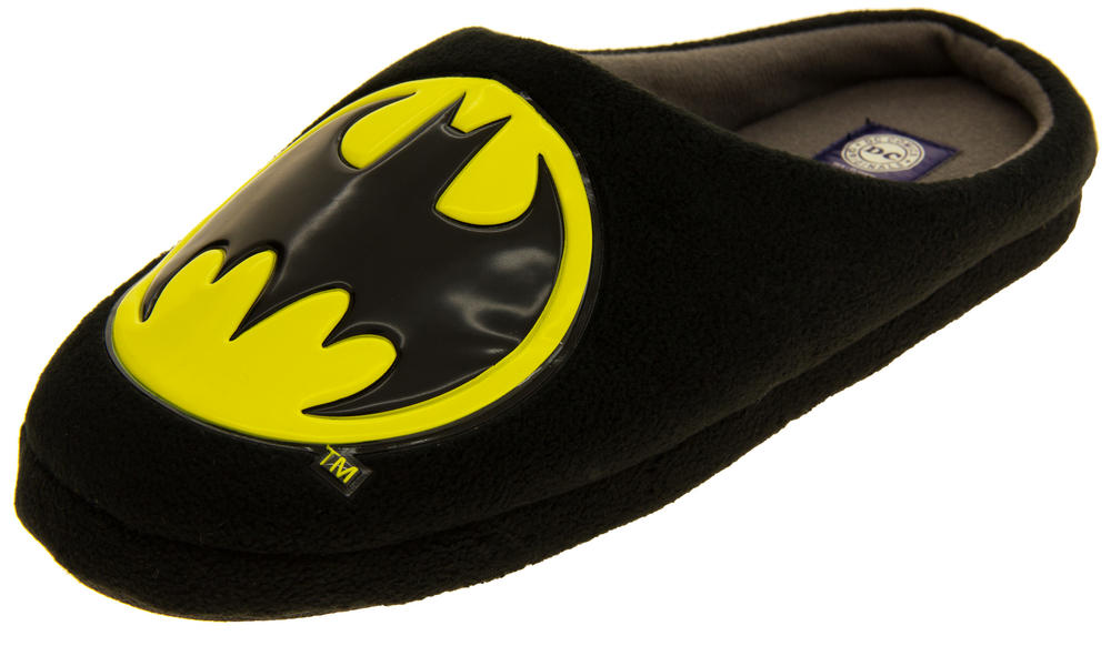 Gorgeous Mens Batman   Padded Mule Slippers