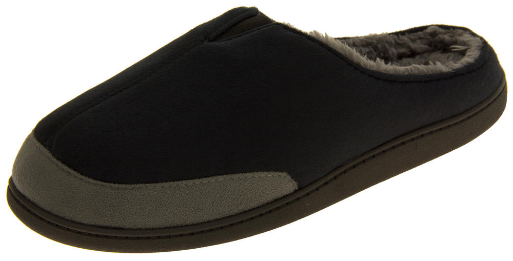 Mens Coolers Open Back Padded Mule Slippers