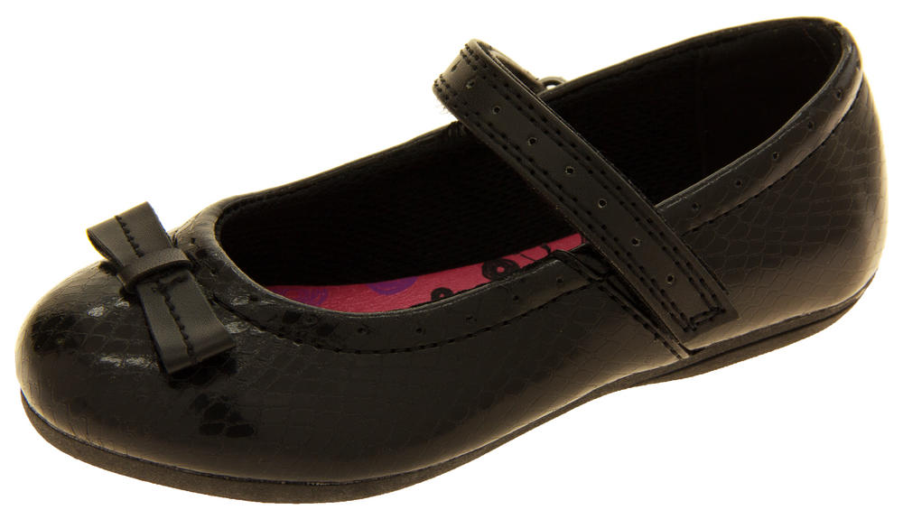 Gola Girls Mary Jane Flats Black Back To School Shoes