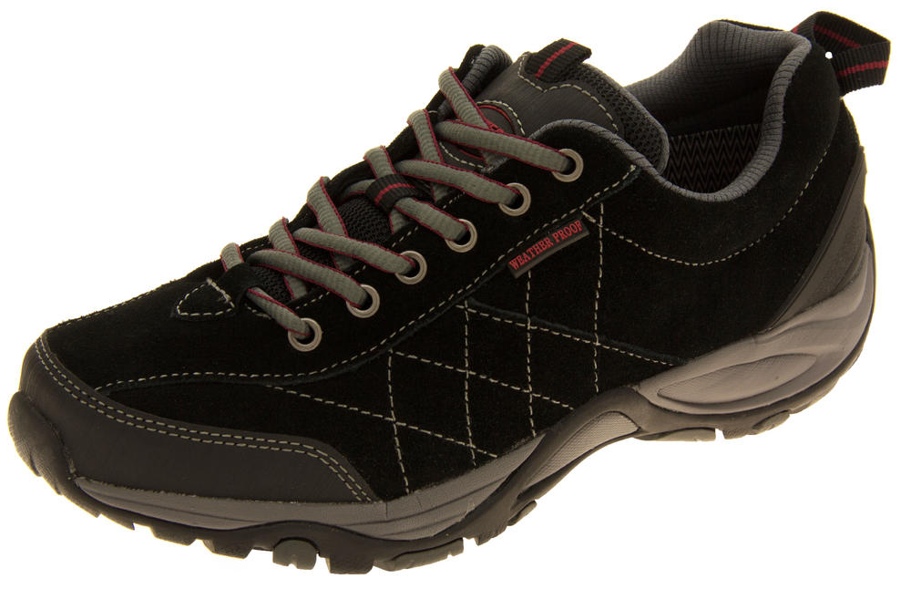 Womens Leather NORTHWEST TERRITORY Weatherproof Hiking Shoes