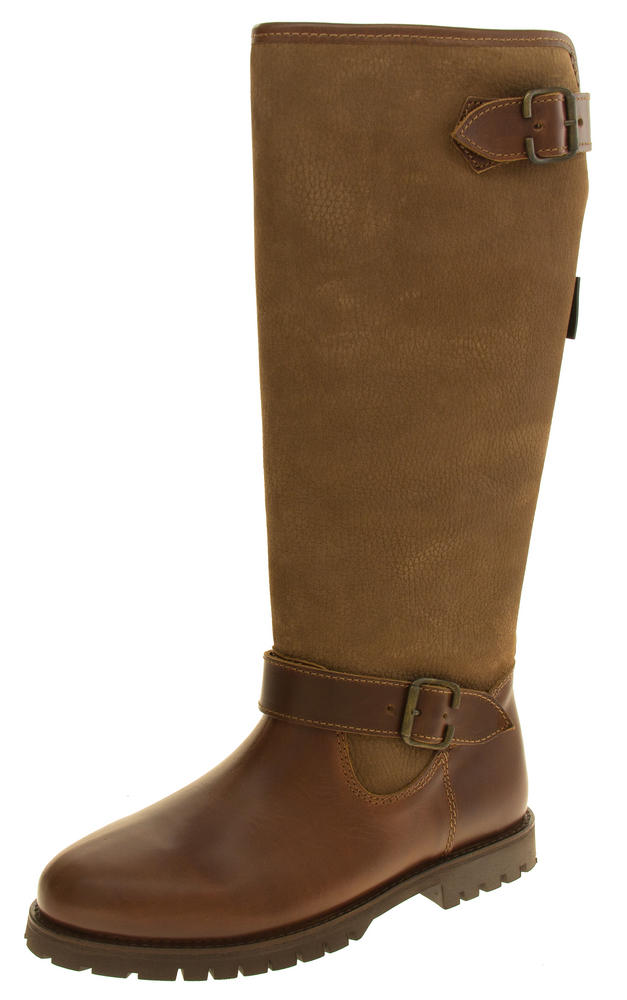 Womens NORTHWEST TERRITORY Leather Knee High Weatherproof Boots
