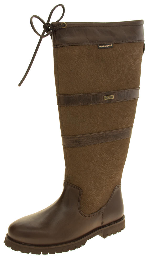 Womens NORTHWEST TERRITORY Leather Knee Length Weatherproof Boots