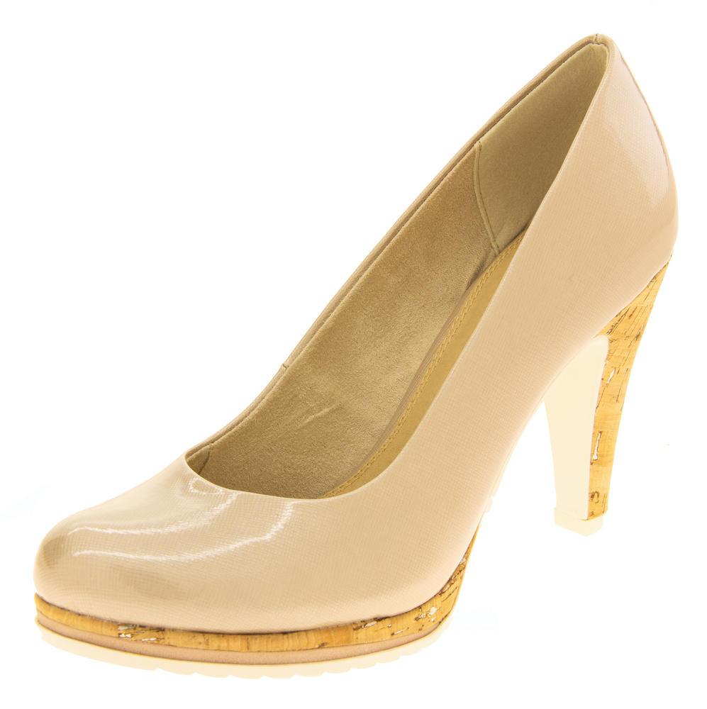 Womens Marco Tozzi High Heel Court Shoes