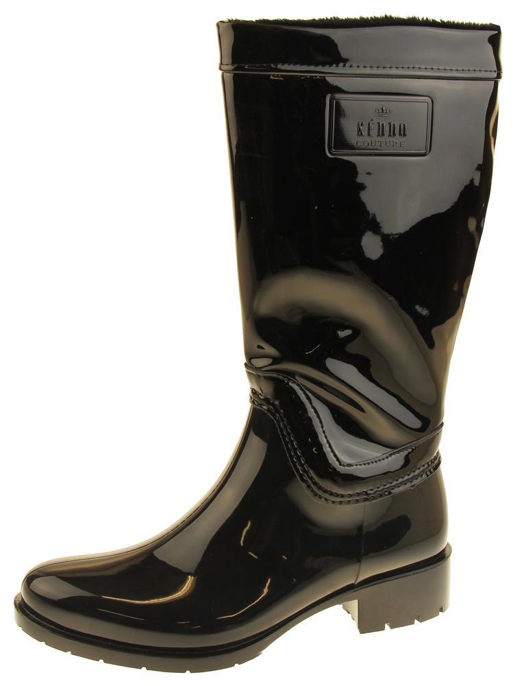 Womens Keddo Zip Up Wellington Boots