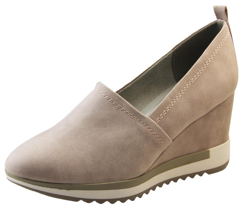 Ladies Stunning MARCO TOZZI Fashion Wedge Heel Sandals Shoes
