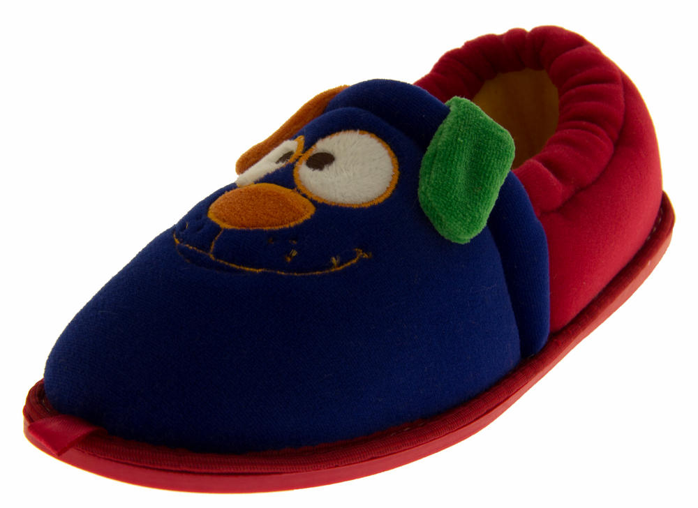 Kids De Fonseca Bistecca Cute Animal Face Slippers